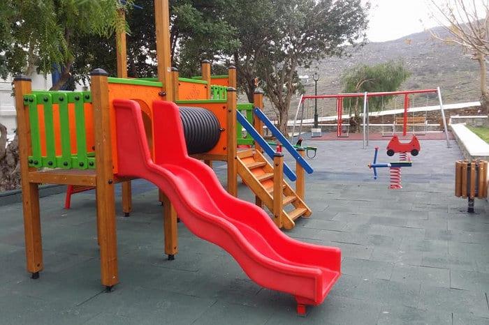 Ο Δήμος Μυκόνου εξασφάλισε ένα σημαντικό ποσό για τις παιδικές χαρές