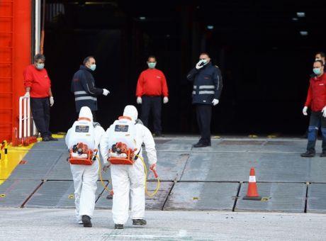 ΕΚΤΑΚΤΗ ΕΙΔΗΣΗ:Αρνητικά τα τεστ των ναυτικών του ΘΕΟΛΟΓΟΣ
